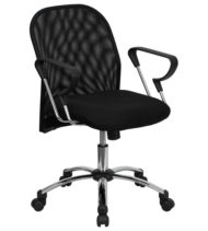 Performance Series Mid-Back Mesh Office Chair-0