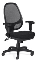 Offices to Go 11641B mesh task chair