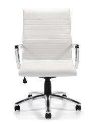 Offices to Go 11730B White Executive Conference Chair
