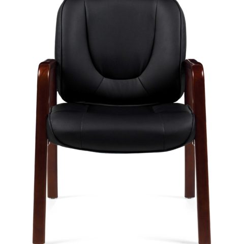 Offices to Go 11770B Wood Accent Office Guest Chair