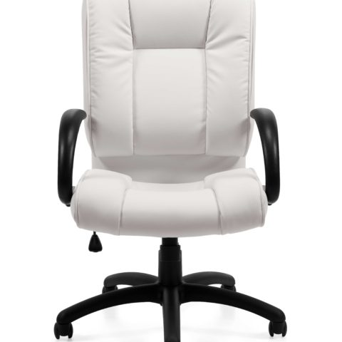 Offices to Go 2700 white executive office chair