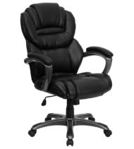 Aristocraft Series III Black Leather Executive Chair-0