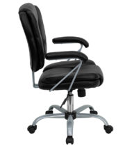 Aristocraft Series MP Platinum Manager Black Desk Chair-16169