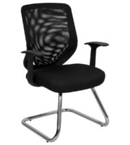 Formfit Mesh Fabric Guest Chair-0