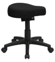 Ergoneel Saddle-Seat Utility Stool-17310