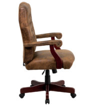 Bomber Brown Classic Executive Office Chair-14661