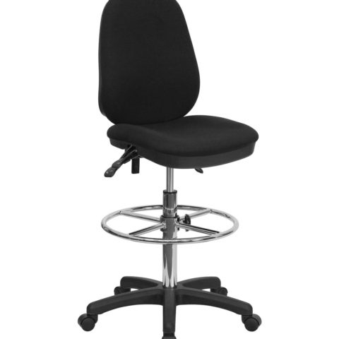 Value Star Triple Paddle Drafting Chair Foot Ring -0