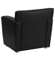 HERCULES Majesty Series Black Leather Chair -14643
