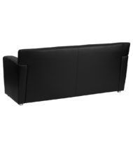 HERCULES Majesty Series Black Leather Sofa -14655
