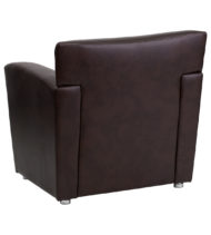 HERCULES Majesty Series Brown Leather Chair -14646