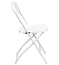 HERCULES Series White Folding Chair-16765