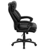 HERCULES Series High Back Black Leather Executive Office Chair -16029