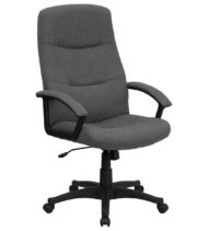 Performance Series Executive Fabric Chair, Grey-0