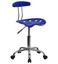 Trendspace Nautical Blue Studio Desk Chair-0