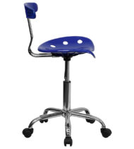 Trendspace Nautical Blue Studio Desk Chair-16846