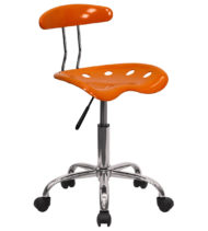 Trendspace Orange Studio Desk Chair-0