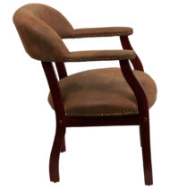 Legends Roosevelt Brown Guest Chair-15553