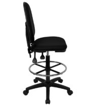 Value Star Mid-Back Multi-Functional Drafting Stool-17455