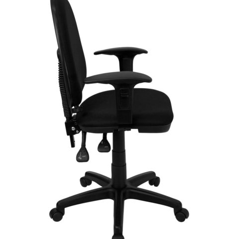 Value Star Mid-Back Multi-Functional Task Chair with Lumbar Support-17451