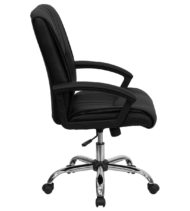 Value Star Black Leather Manager Chair-15497