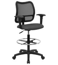 Value Star Mid-Back Drafting Stool-0