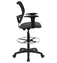 Value Star Mid-Back Drafting Stool-17415