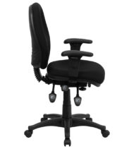 Value Star Multi-Functional Mid-Back Computer Chair, Black-15060