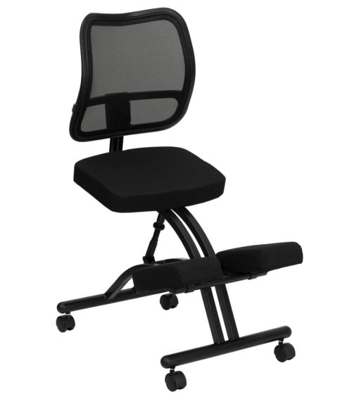 Ergoneel Mobile Ergonomic Kneeling Chair-0