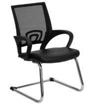 Performance Series Black Synergy Guest Chair-0