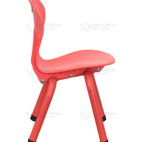 Red Plastic Stackable School Chair with 11.75'' Seat Height -18430