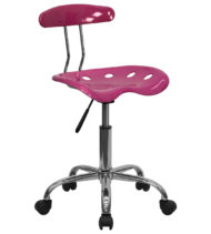 Trendspace Pink Studio Desk Chair-0