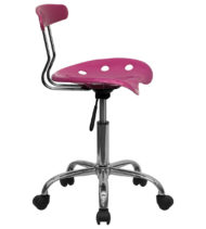 Trendspace Pink Studio Desk Chair-18664