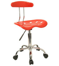 Trendspace Red Studio Desk Chair-0