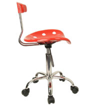 Trendspace Red Studio Desk Chair-18668