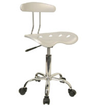 Trendspace Silver Studio Desk Chair-0