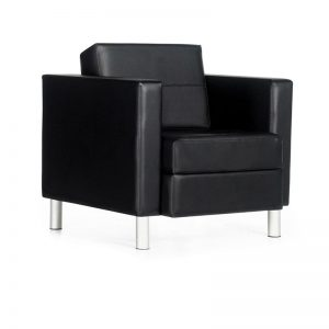 Global Total Office 7875 Citi Lounge Chair - Black
