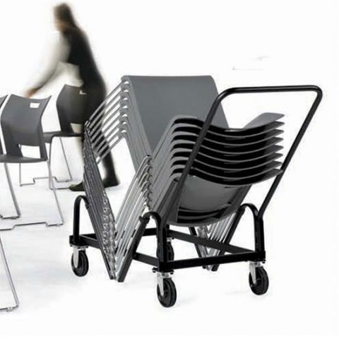 Global Total Office 6620 Duet Stackable Armchair