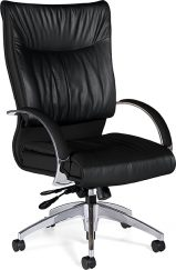 Global Softcurve High Back Multi-tilter w/cast aluminum arms and base