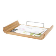 Bamboo Single Tray Organizer