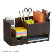 Leather Look Small Organizer 1