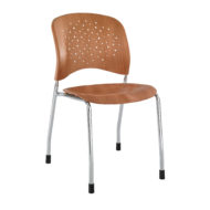 Reve Armless Stackable Guest Chair