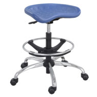 SitStar Stool with Chrome Base