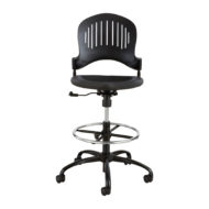 Zippi Plastic Extended-Height Chair