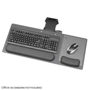 """Ergo-Comfort Low Profile Articulating 28"""" Keyboard/Mouse Arm"""
