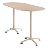 Cha-cha Racetrack top, 84 x 36 Bistro Height