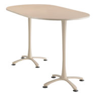 Cha-cha Racetrack top, 72 x 42 Bistro Height