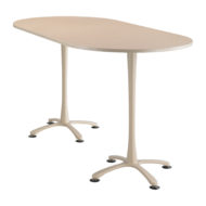 Cha-cha Racetrack top, 84 x 42 Bistro Height
