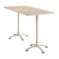 Cha-cha Rectangle top, 72 x 36 Bistro Height