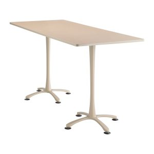 Cha-cha Rectangle top, 84 x 36 Bistro Height