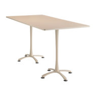 Cha-cha Rectangle top, 84 x 42 Bistro Height